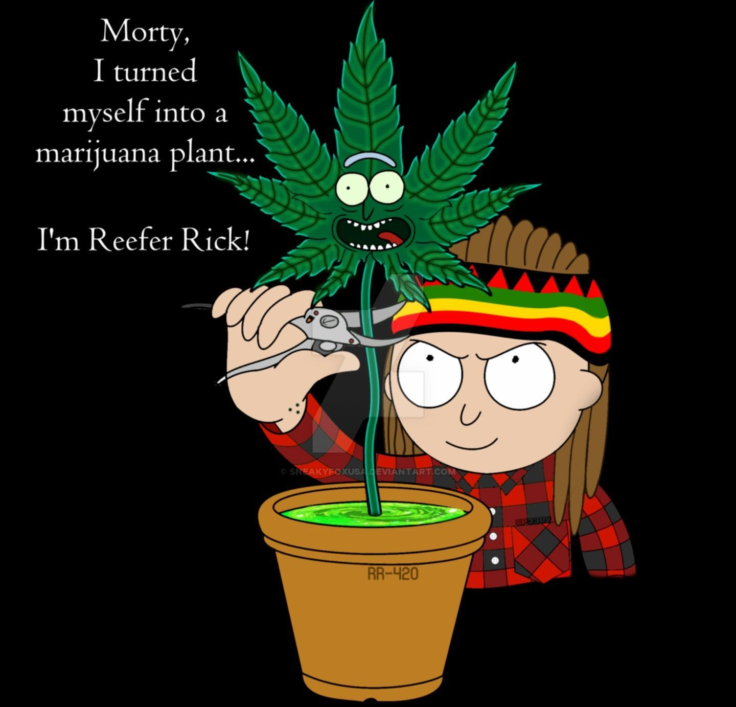 Rick And Morty Stoner Wallpapers Top Free Rick And Morty Stoner