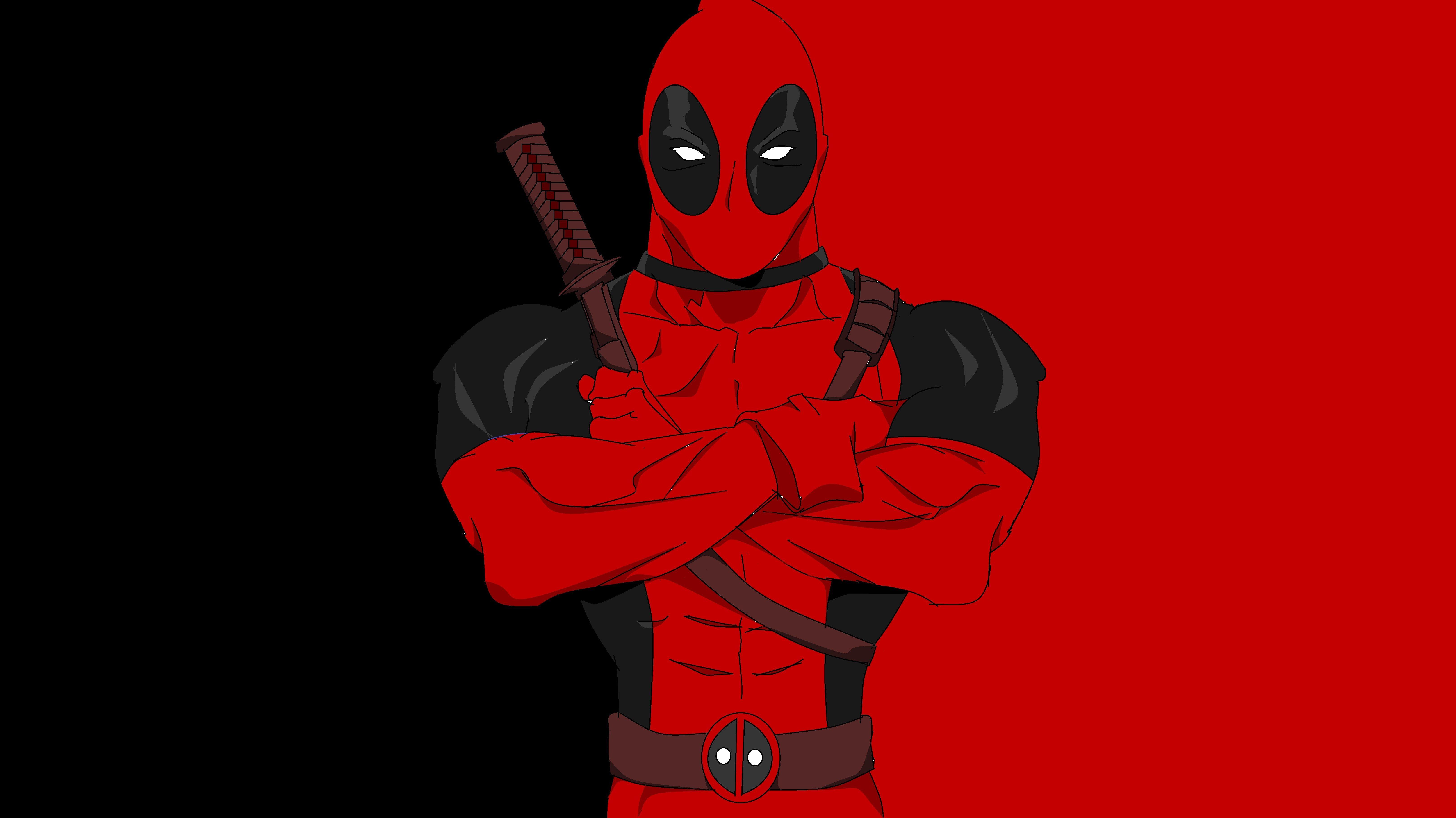 Deadpool Cartoon Wallpapers Top Free Deadpool Cartoon Backgrounds Wallpaperaccess