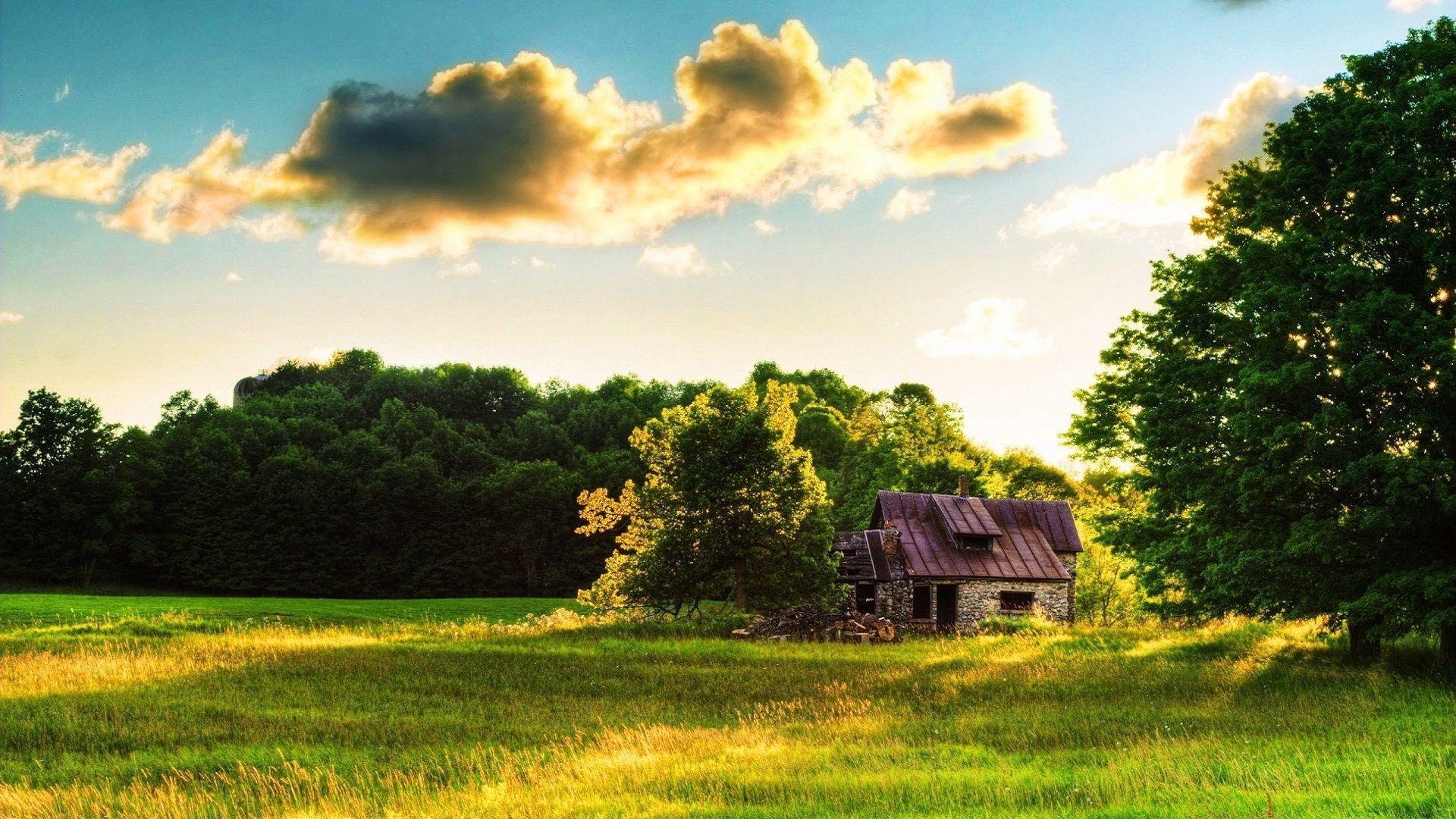 Farmhouse Desktop Wallpapers Top Free Farmhouse Desktop Backgrounds Wallpaperaccess
