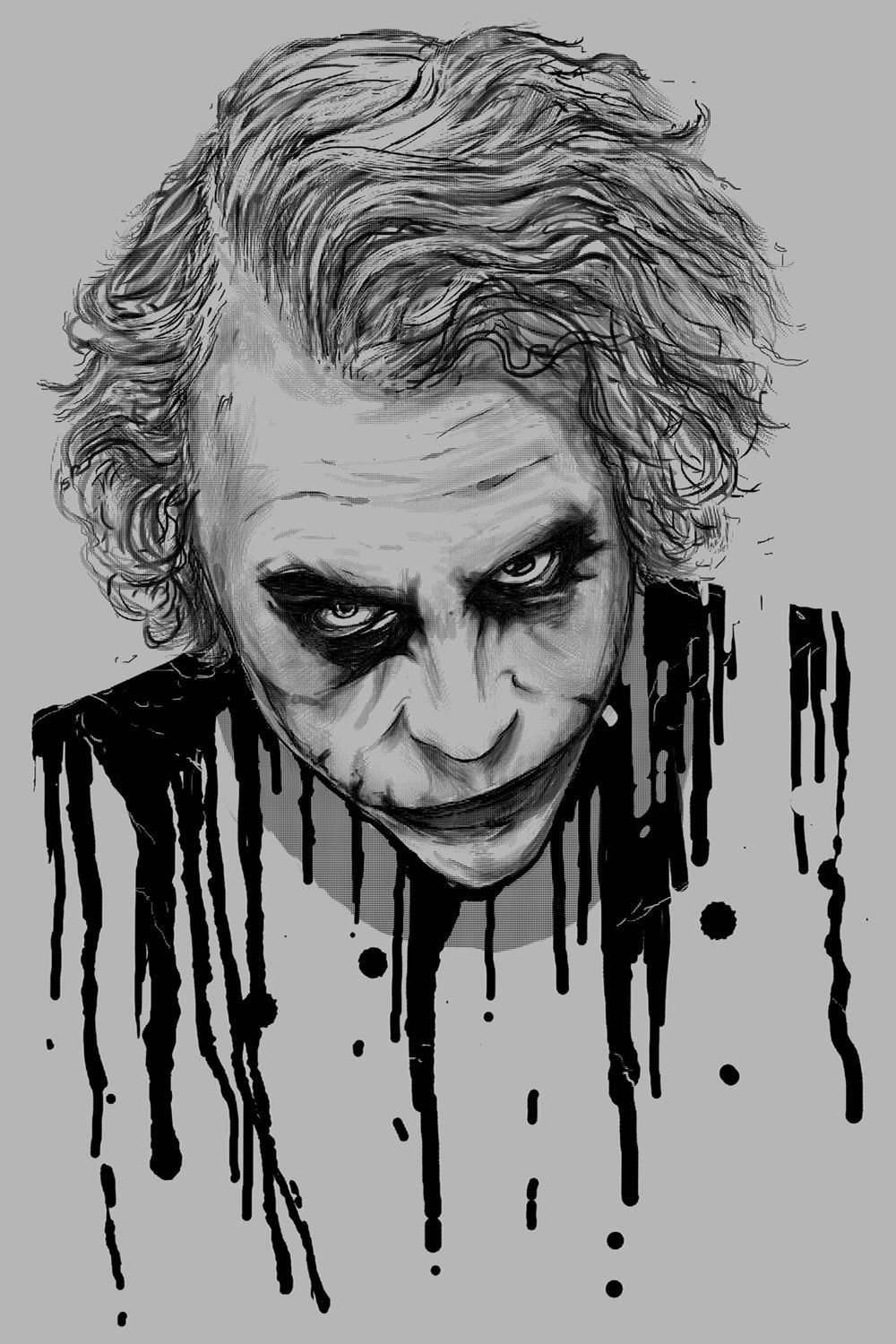 Joker Drawing Wallpapers Top Free Joker Drawing Backgrounds Wallpaperaccess