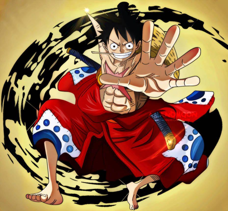 Luffy Wano Wallpapers Top Free Luffy Wano Backgrounds Wallpaperaccess