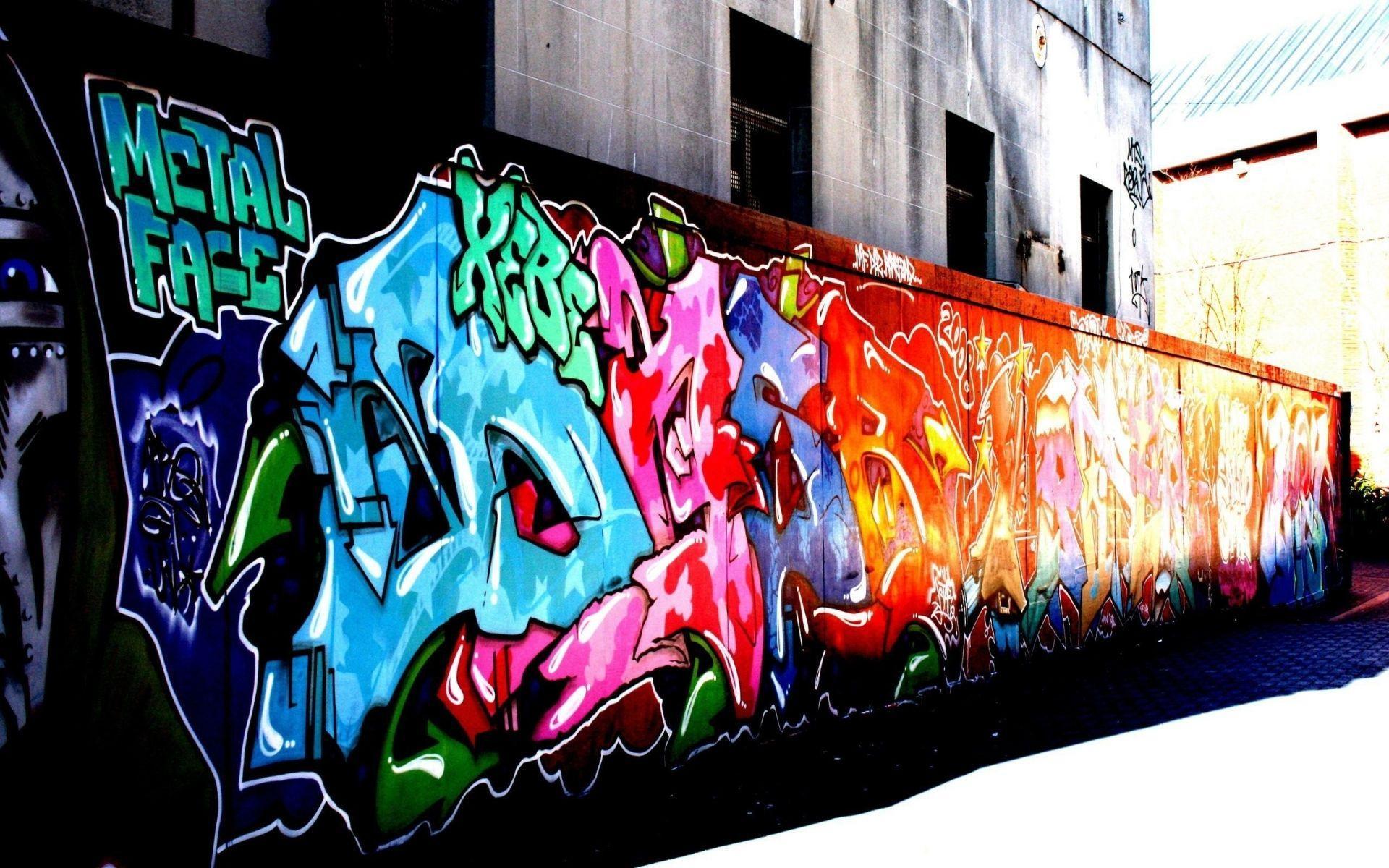 1920x1200 Urban Graffiti Desktop Background Hình nền nghệ thuật đô thị - Hình nền