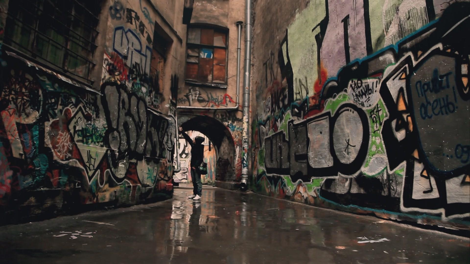 1920x1080 nghệ thuật thành thị graffiti sơn vẽ cô gái tòa nhà miễn phí nền máy tính để bàn