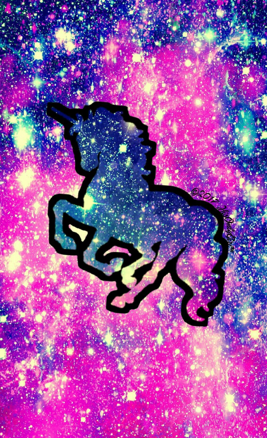 Galaxy Unicorn Wallpapers Top Free Galaxy Unicorn Backgrounds Wallpaperaccess
