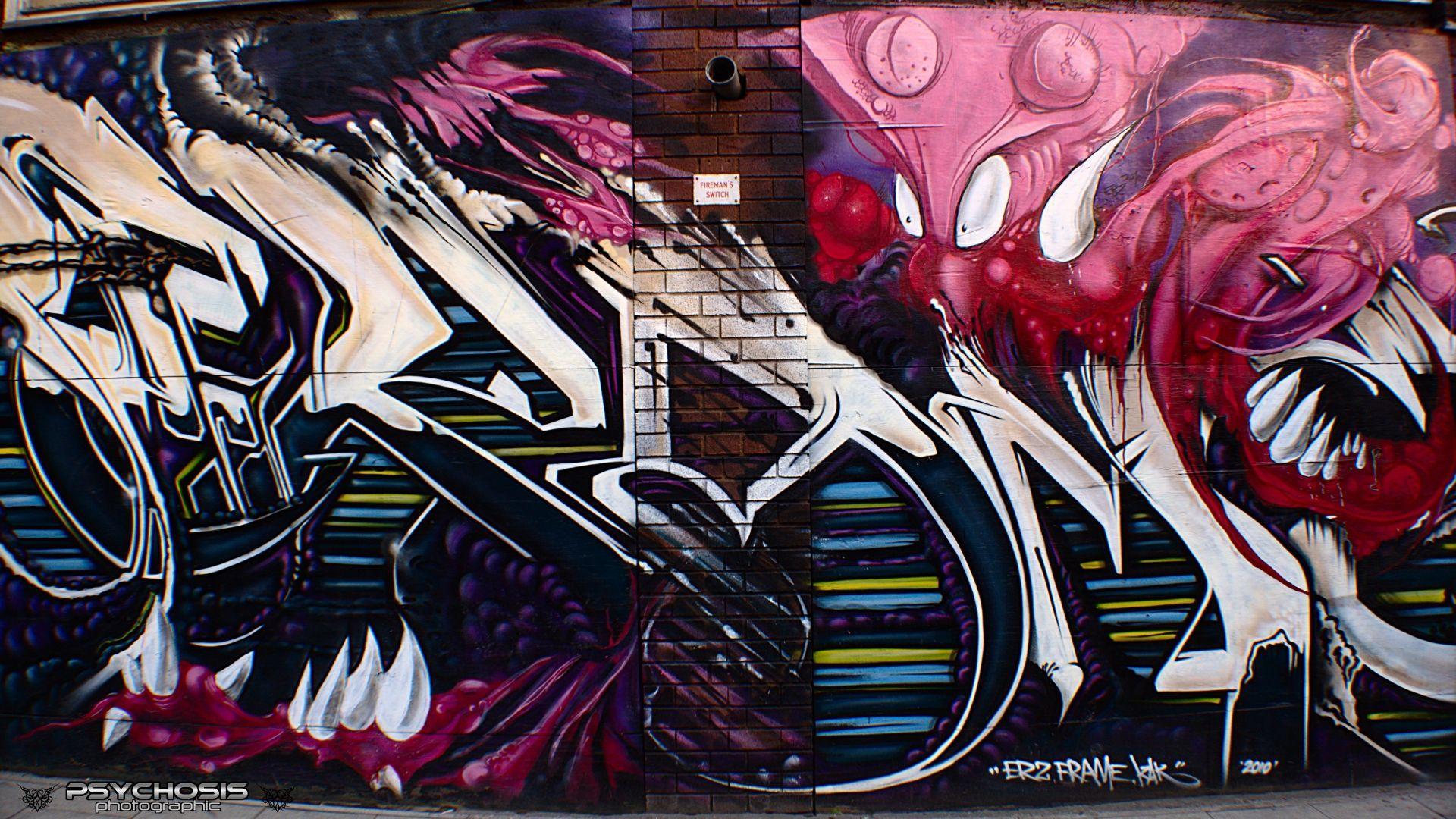 1920x1080 Graffiti Hình nền đô thị Hình nền nghệ thuật đường phố Graffiti, Pc Graffiti