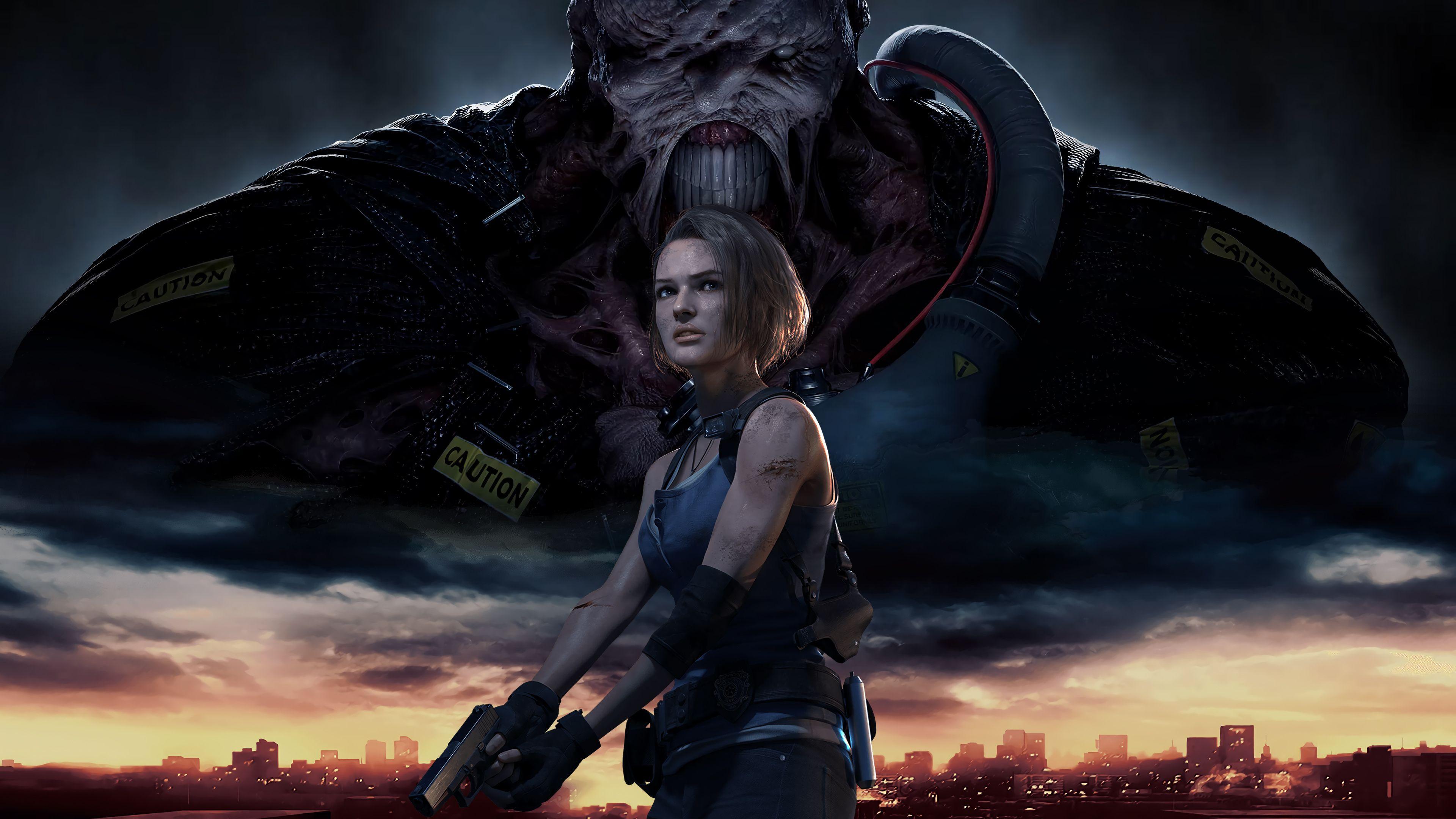 Resident Evil 3 Remake Wallpapers Top Free Resident Evil 3