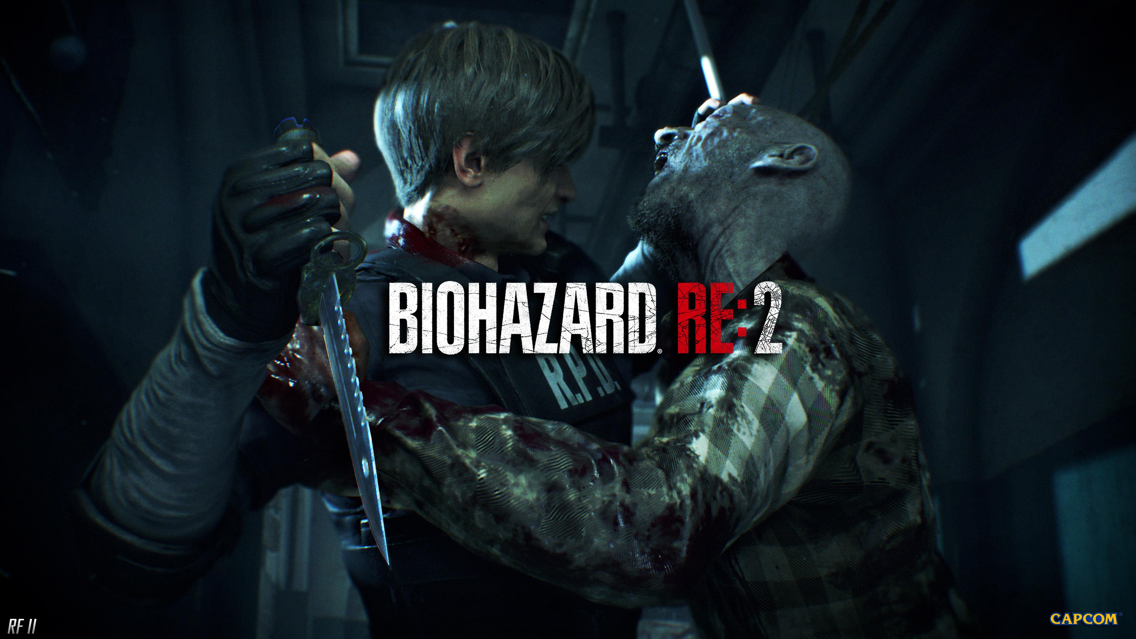 Resident Evil 2 Remake Wallpapers Top Free Resident Evil 2