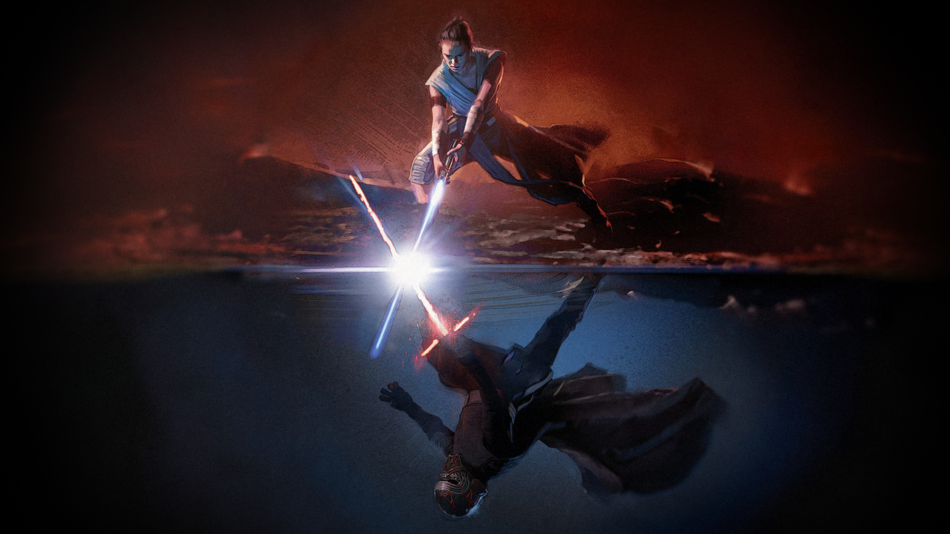 Reylo Wallpapers Top Free Reylo Backgrounds Wallpaperaccess