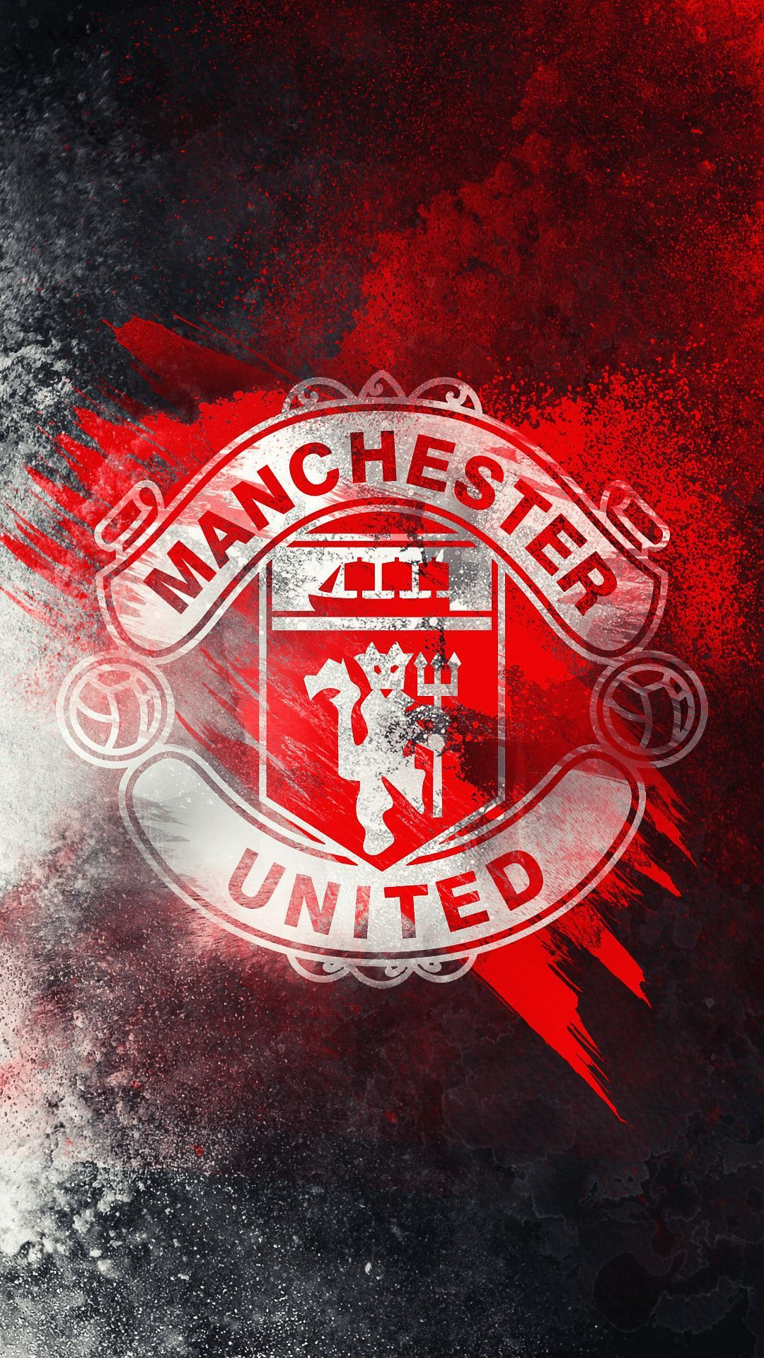 Manchester United Logo Wallpapers Top Free Manchester United Logo Backgrounds Wallpaperaccess