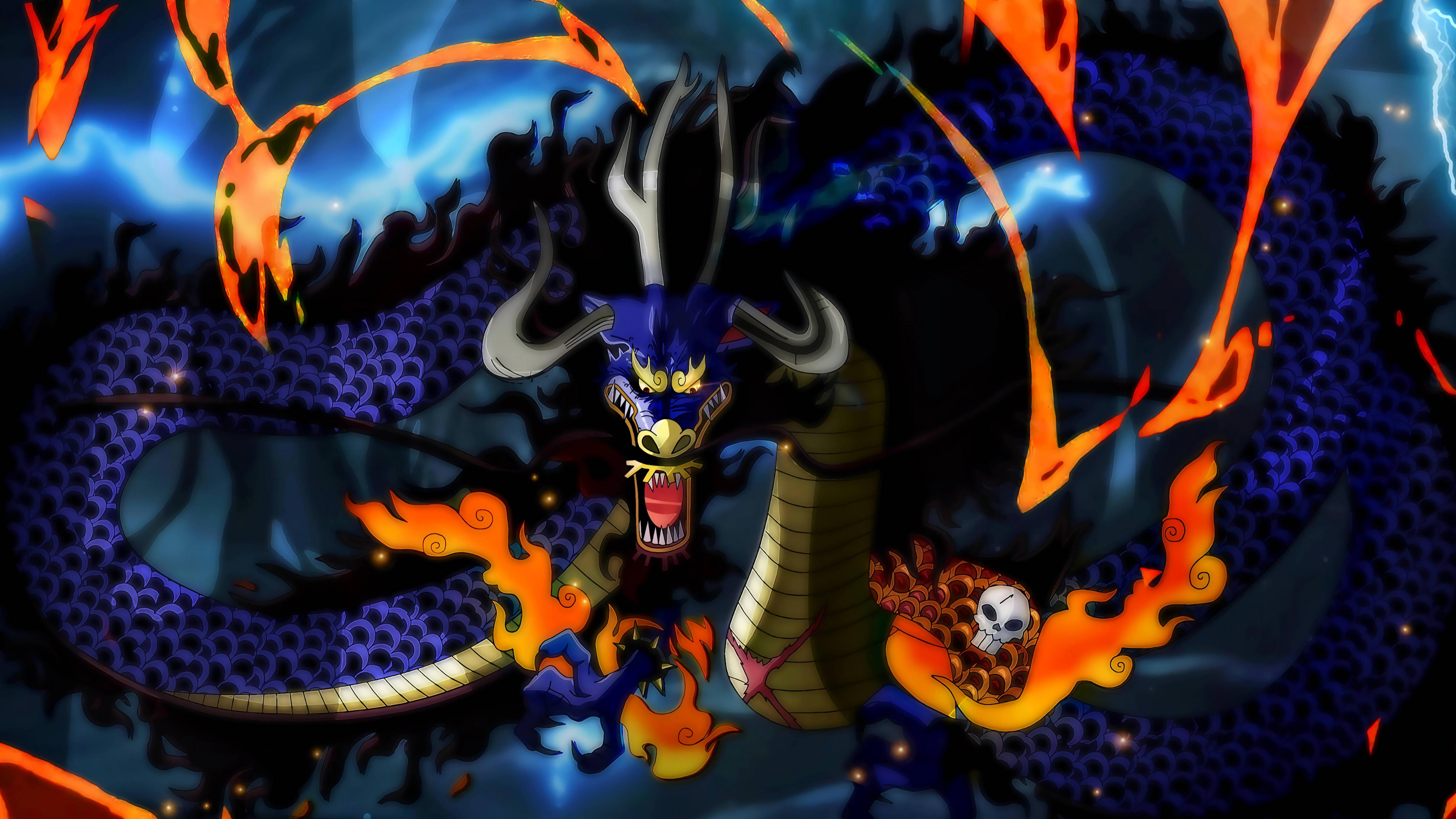 Kaido One Piece Wallpapers Top Free Kaido One Piece Backgrounds Wallpaperaccess