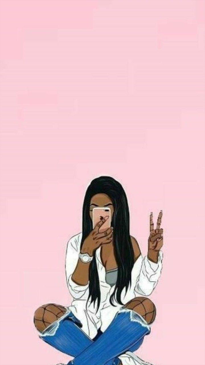 Black Girl Aesthetic Wallpapers Top Free Black Girl Aesthetic Backgrounds Wallpaperaccess