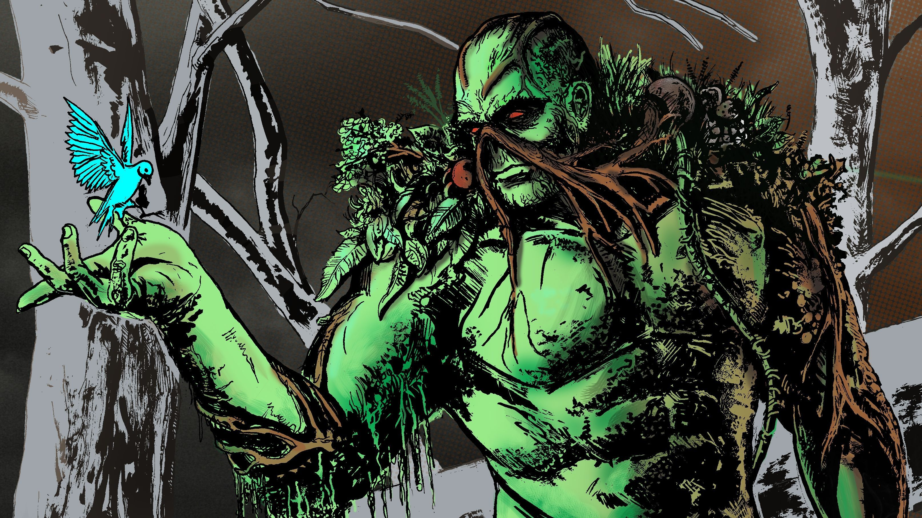 Swamp Thing Wallpapers Top Free Swamp Thing Backgrounds Wallpaperaccess