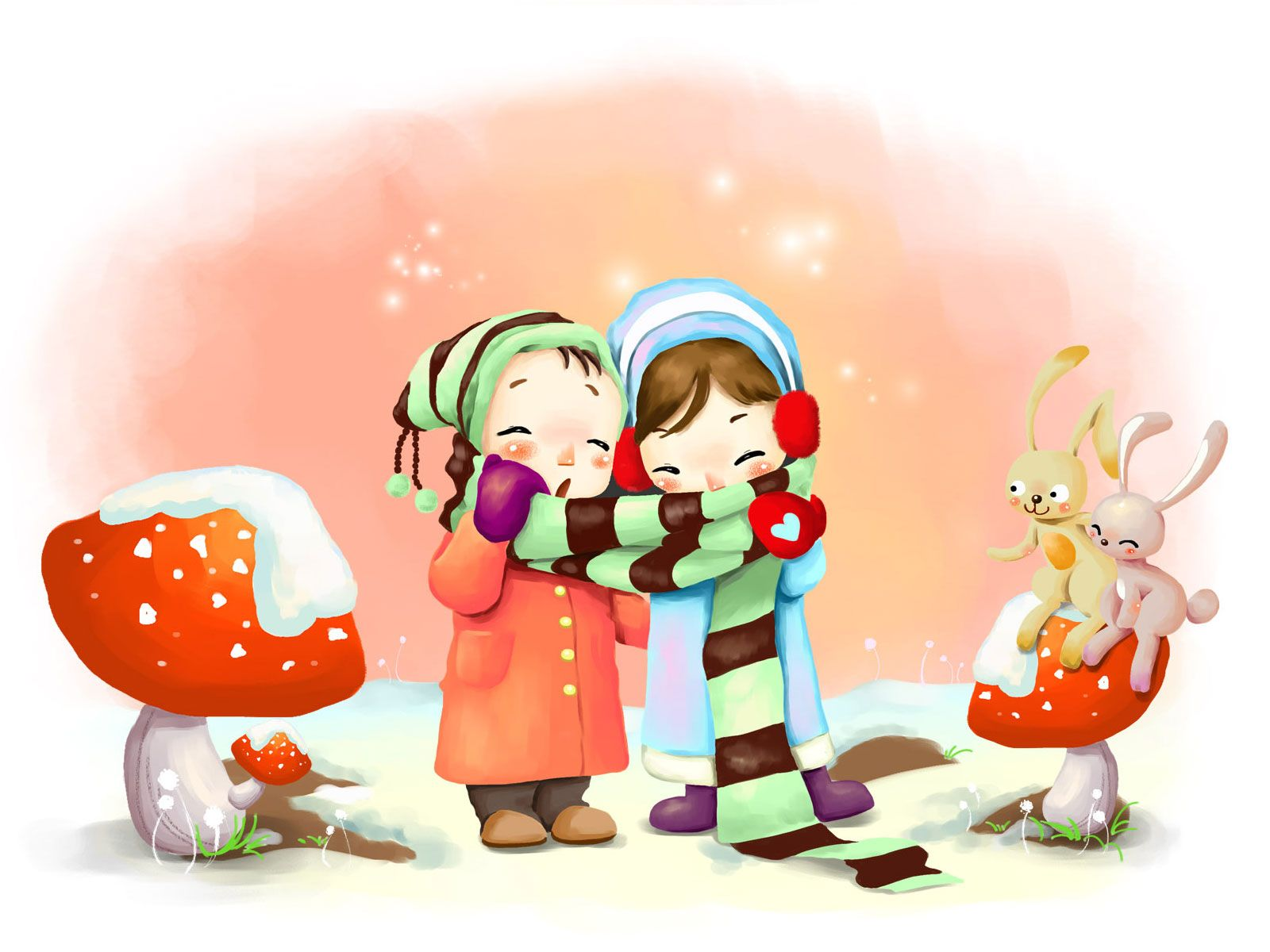 Cute Cartoon Wallpapers Top Free Cute Cartoon Backgrounds