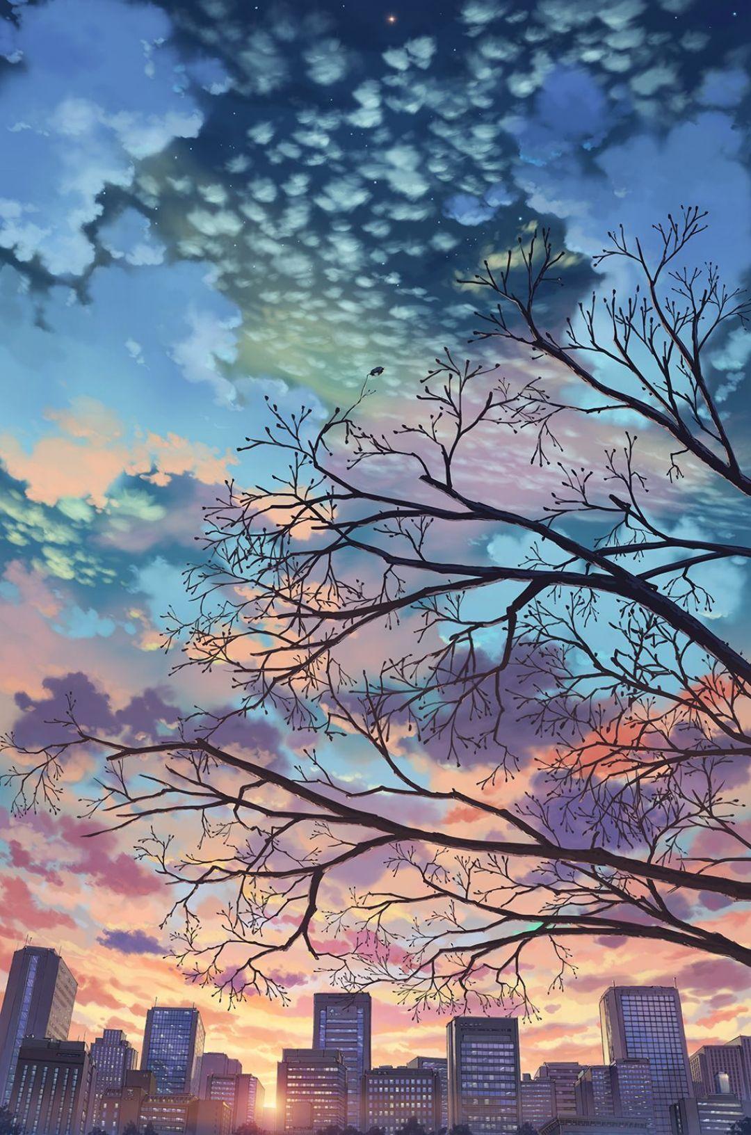 1080x1632 28 ++ Aesthetic Anime Wallpaper Sky