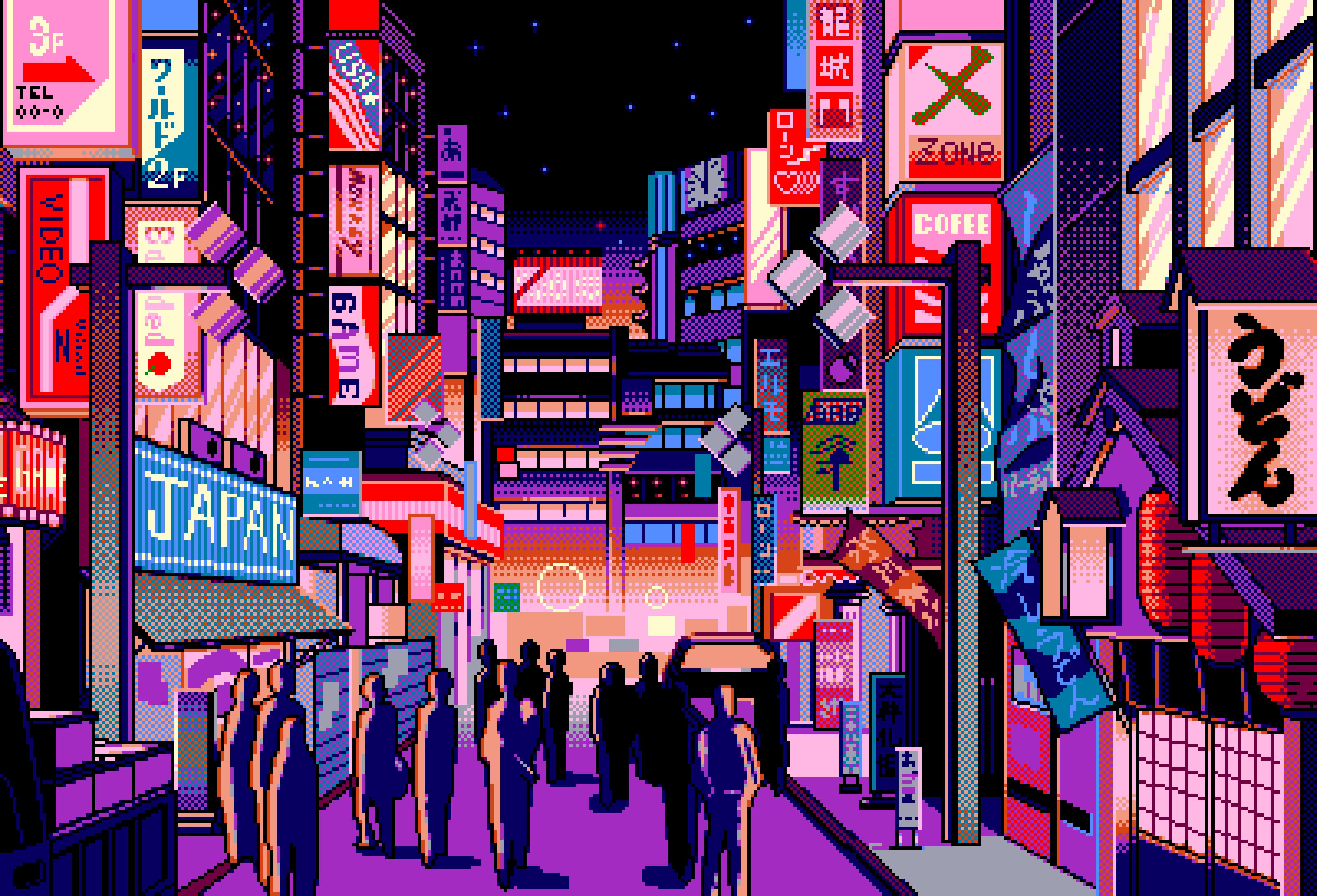 Aesthetic Pixel Art Wallpapers - Top Free Aesthetic Pixel ...