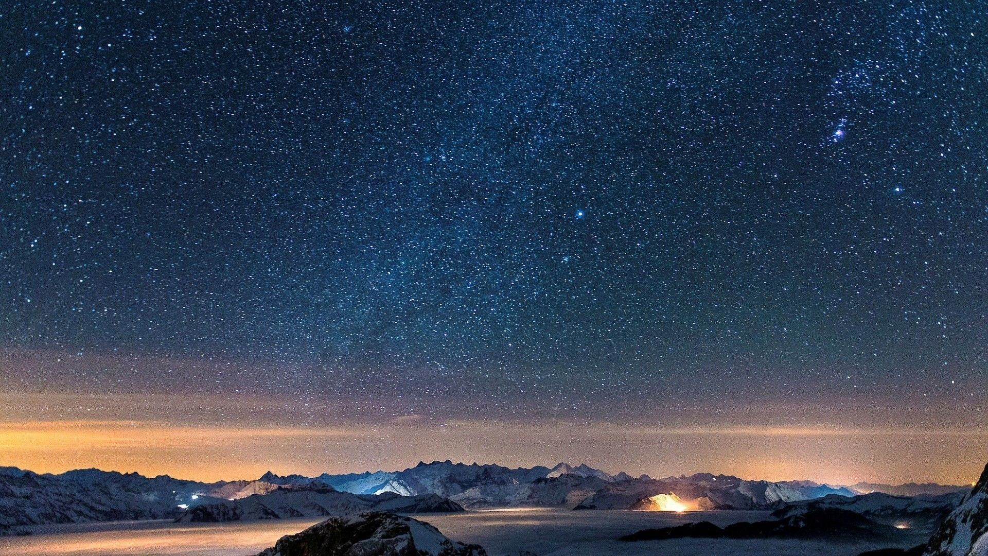 Night Sky Stars Wallpapers Top Free Night Sky Stars Backgrounds Wallpaperaccess