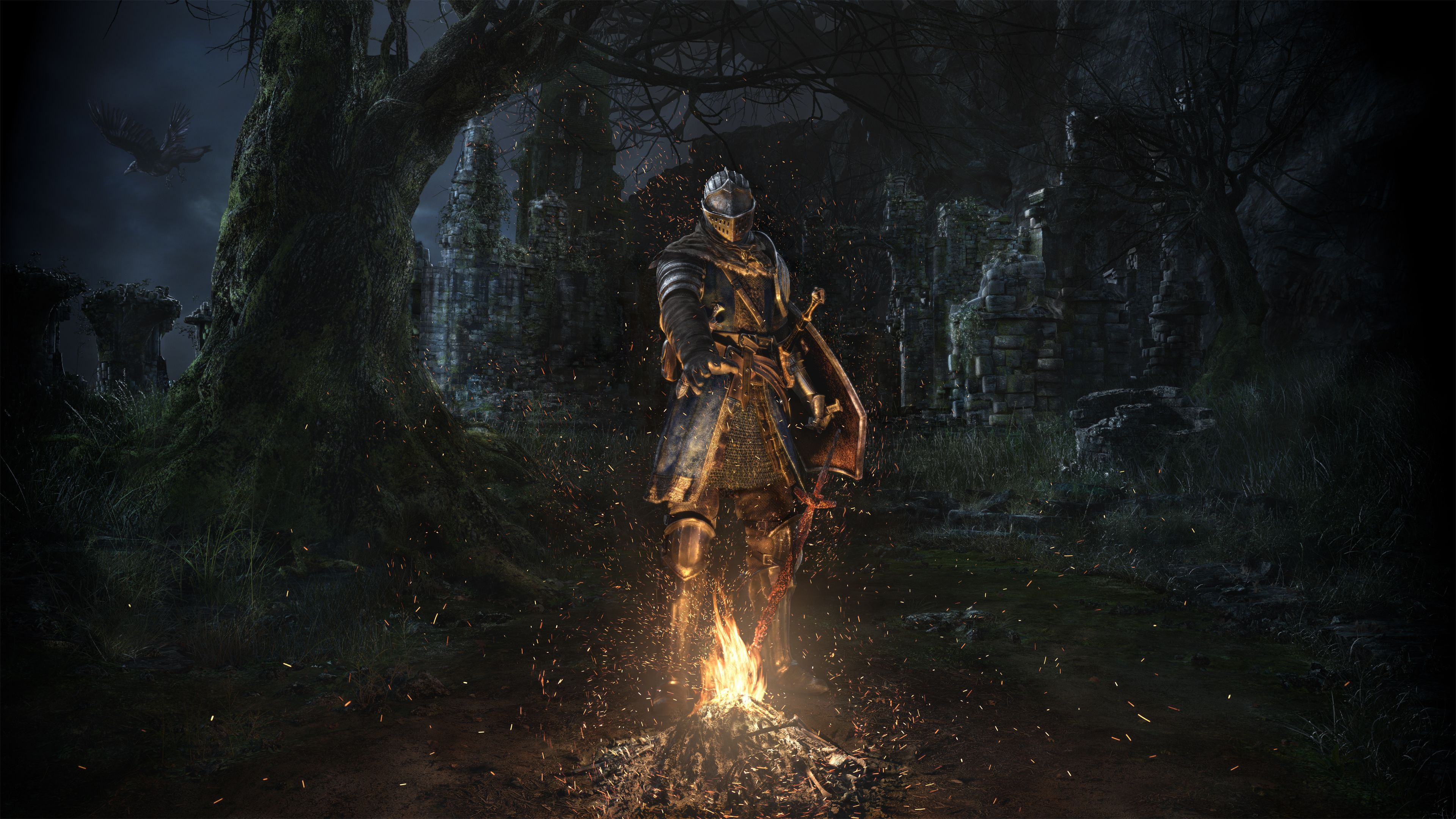 Dark Souls Wallpapers Top Free Dark Souls Backgrounds Wallpaperaccess