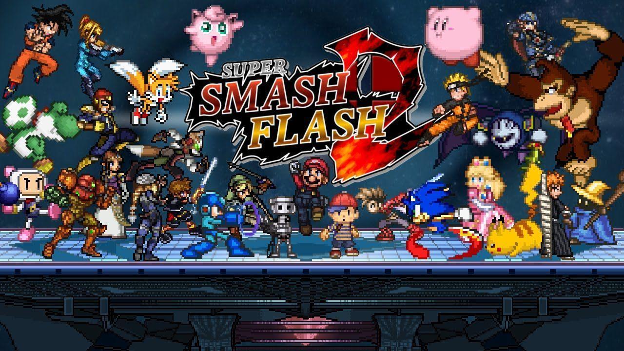 Jogar Super Smash Flash 2 V1.2
