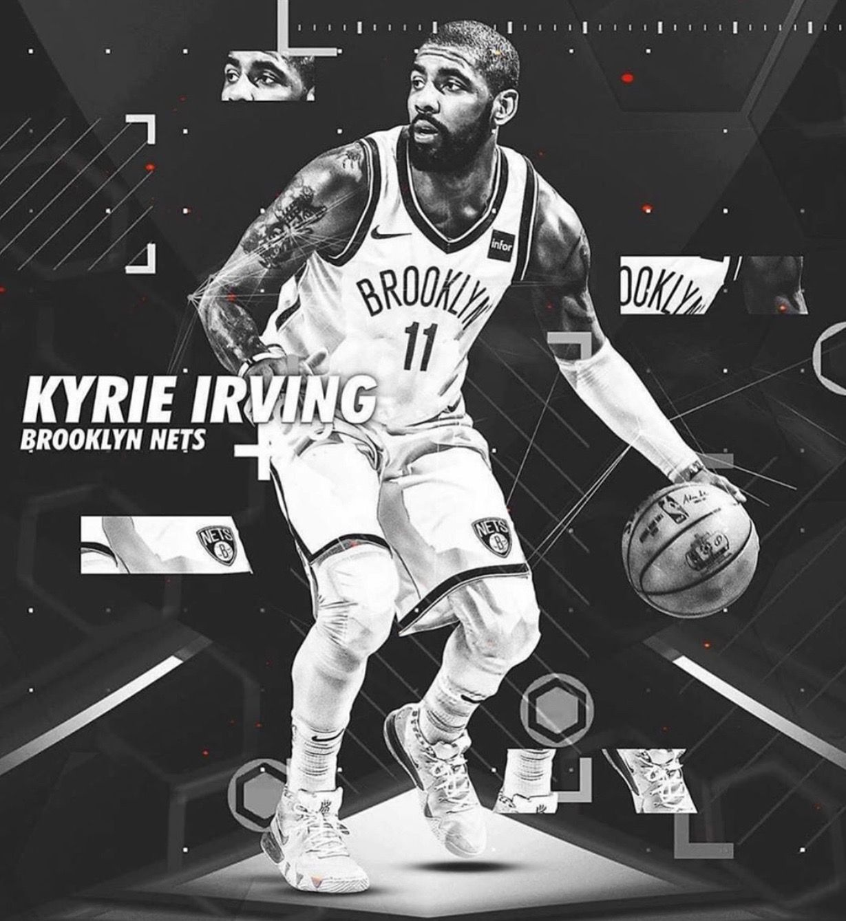 Kyrie Irving Nets Wallpapers Top Free Kyrie Irving Nets