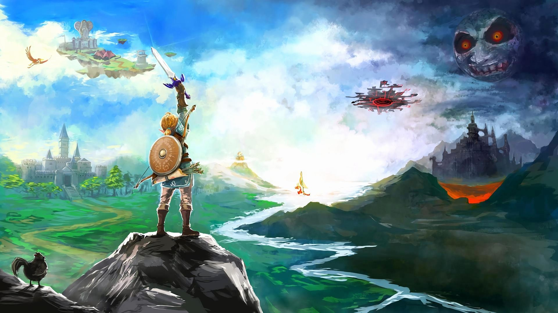 The Legend Of Zelda Wallpapers Top Free The Legend Of Zelda