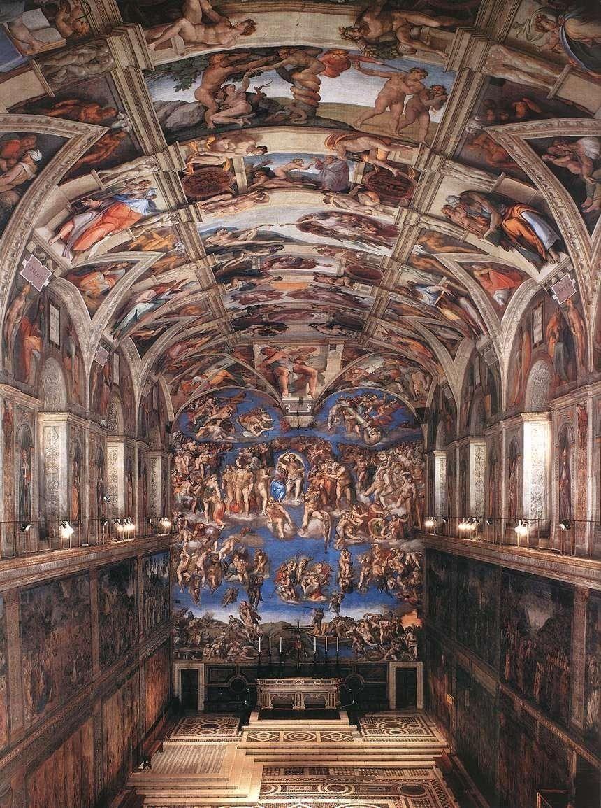 Sistine Chapel Wallpapers Top Free Sistine Chapel