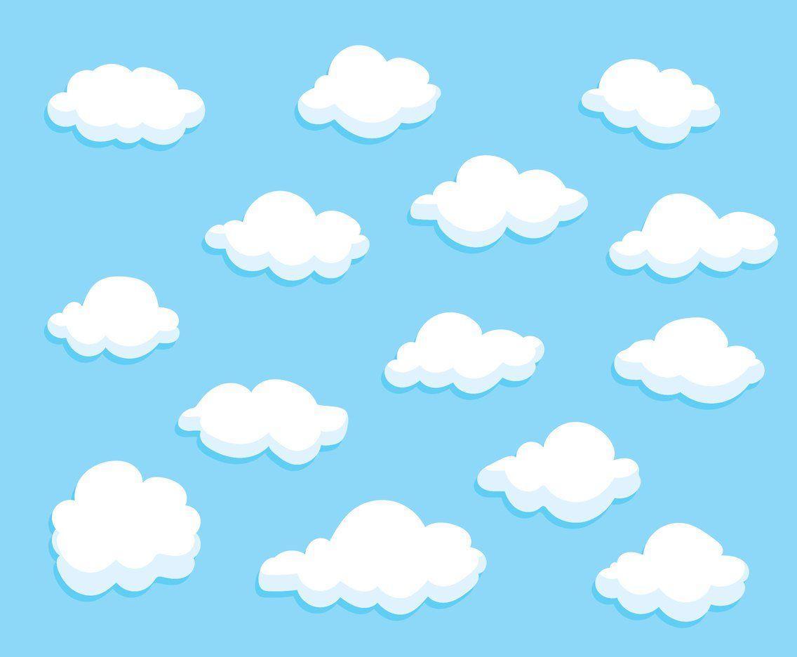 Cartoon Cloud Wallpapers Top Free Cartoon Cloud Backgrounds