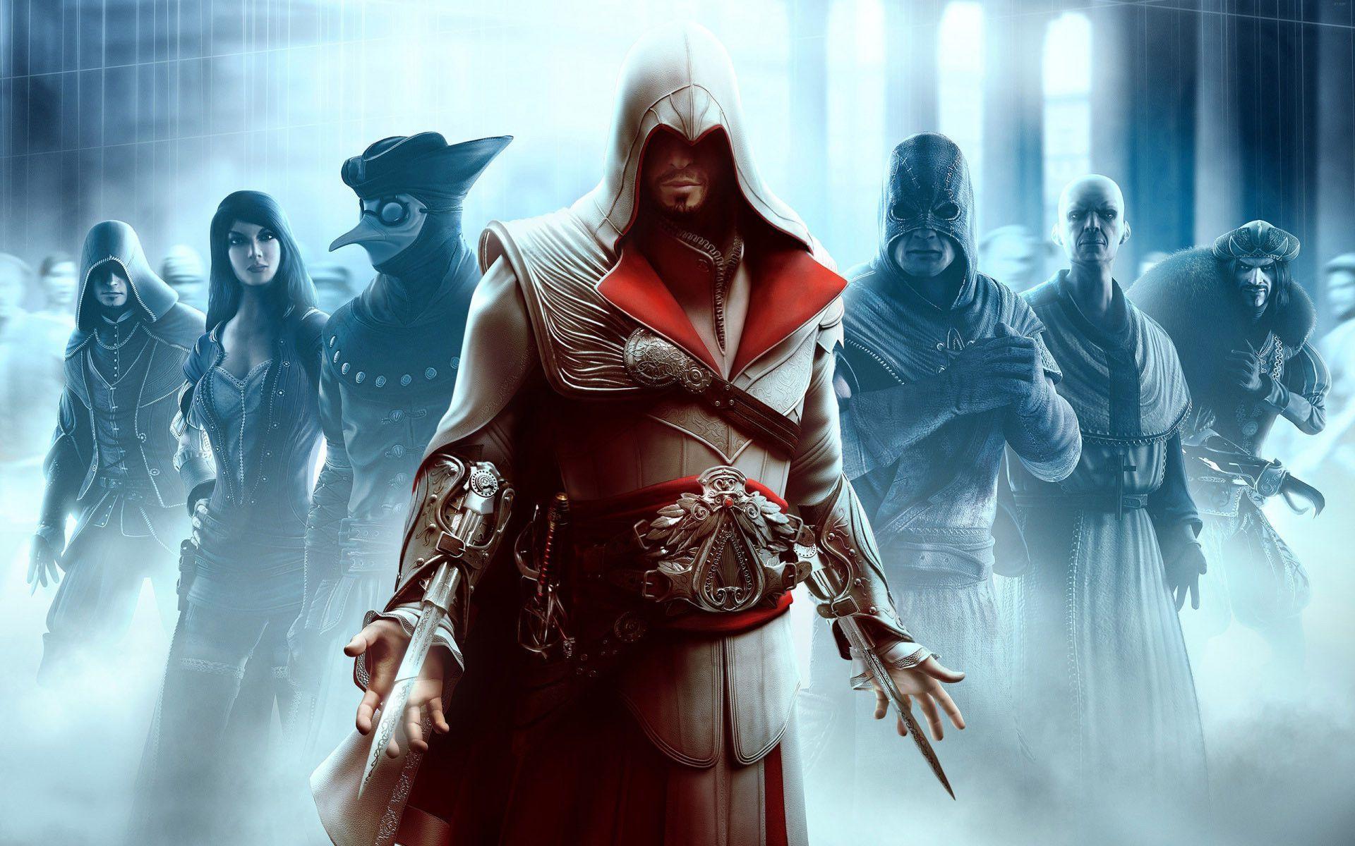 Assassin S Creed Brotherhood Wallpapers Top Free Assassin S Creed Brotherhood Backgrounds Wallpaperaccess