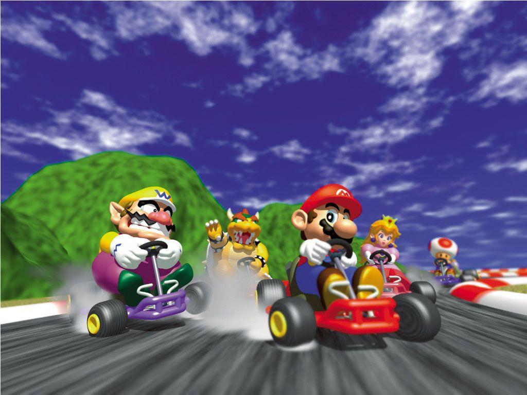 Mario Kart 64 Wallpapers Top Free Mario Kart 64 Backgrounds