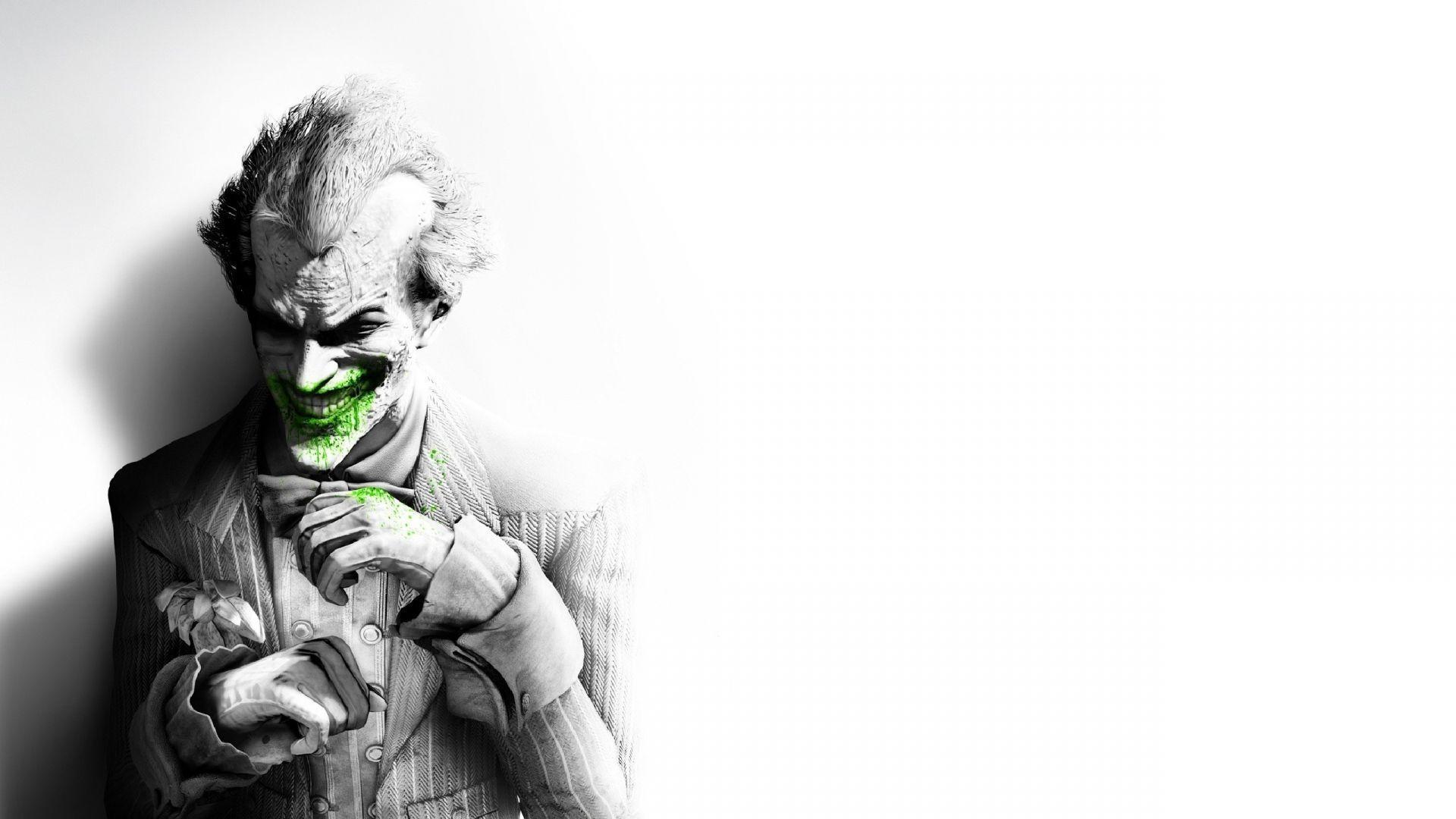 Joker Arkham Wallpapers Top Free Joker Arkham Backgrounds Wallpaperaccess