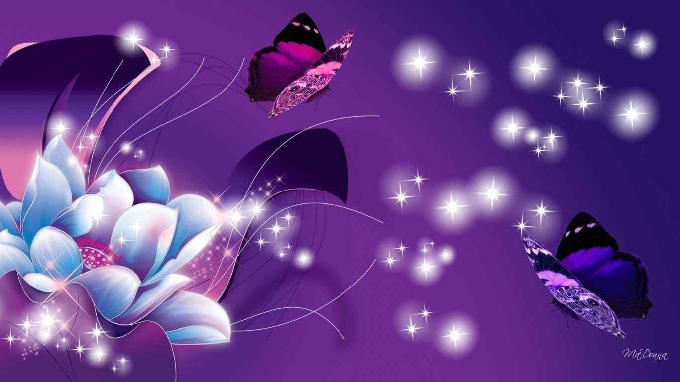 1920x1200 Desktop Animated Butterfly Wallpaper