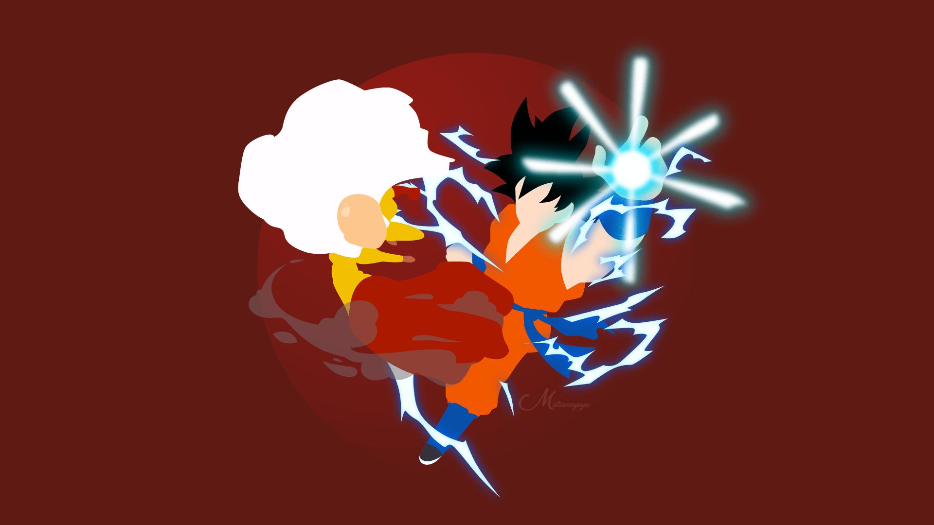 Goku Minimalist Wallpapers Top Free Goku Minimalist Backgrounds Wallpaperaccess