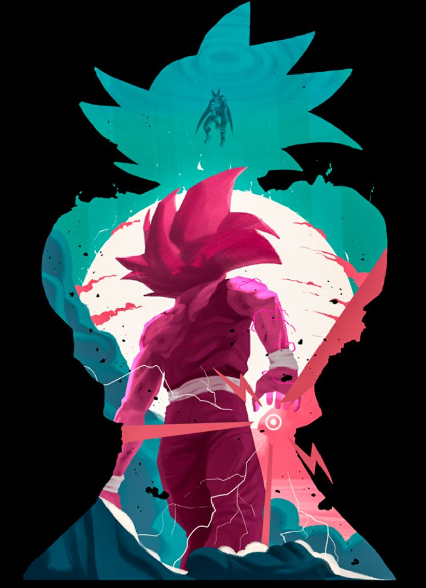 Goku Minimalist Wallpapers Top Free Goku Minimalist Backgrounds Wallpaperaccess