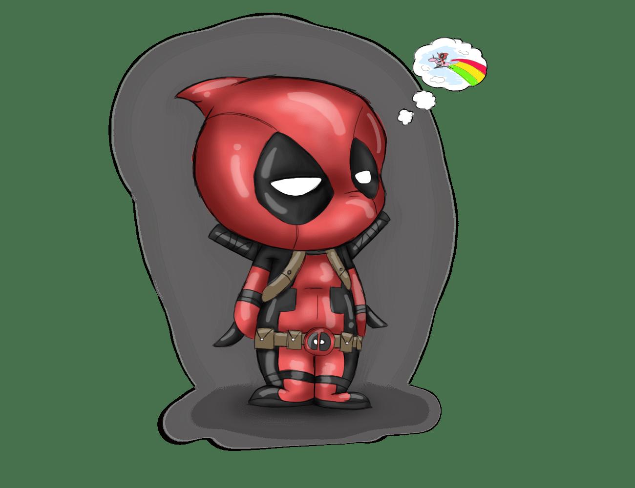 Kawaii Deadpool Wallpapers Top Free Kawaii Deadpool Backgrounds Wallpaperaccess