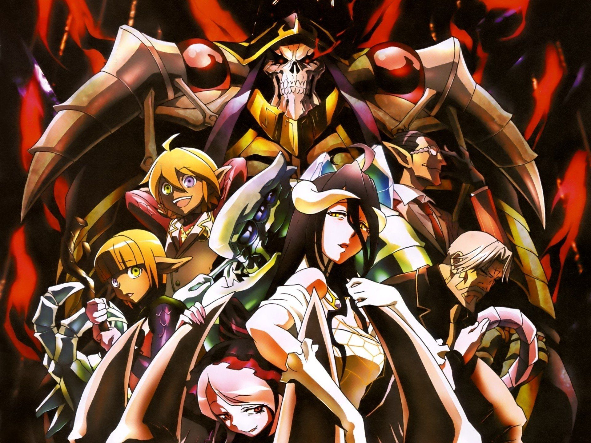 Overlord Anime Wallpapers Top Free Overlord Anime Backgrounds Wallpaperaccess