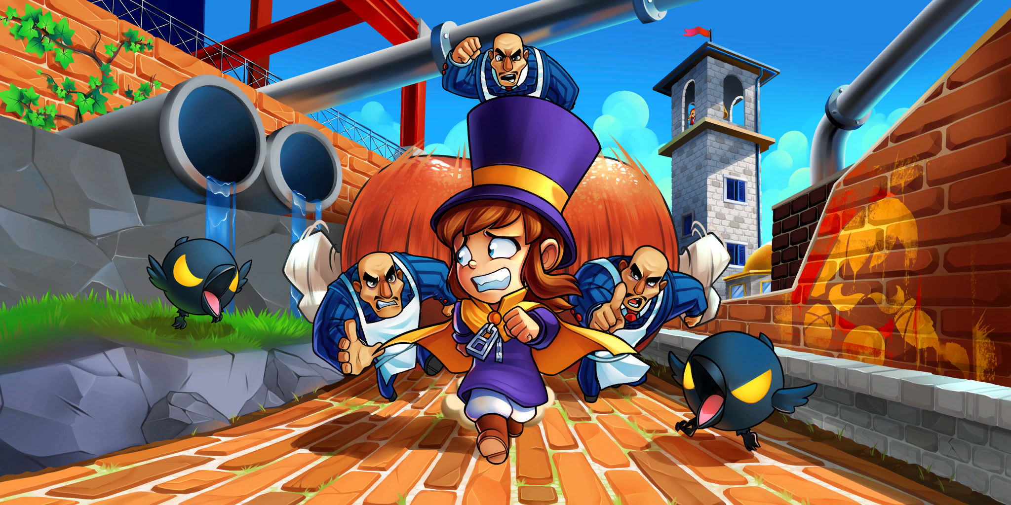 A Hat In Time Wallpapers Top Free A Hat In Time Backgrounds