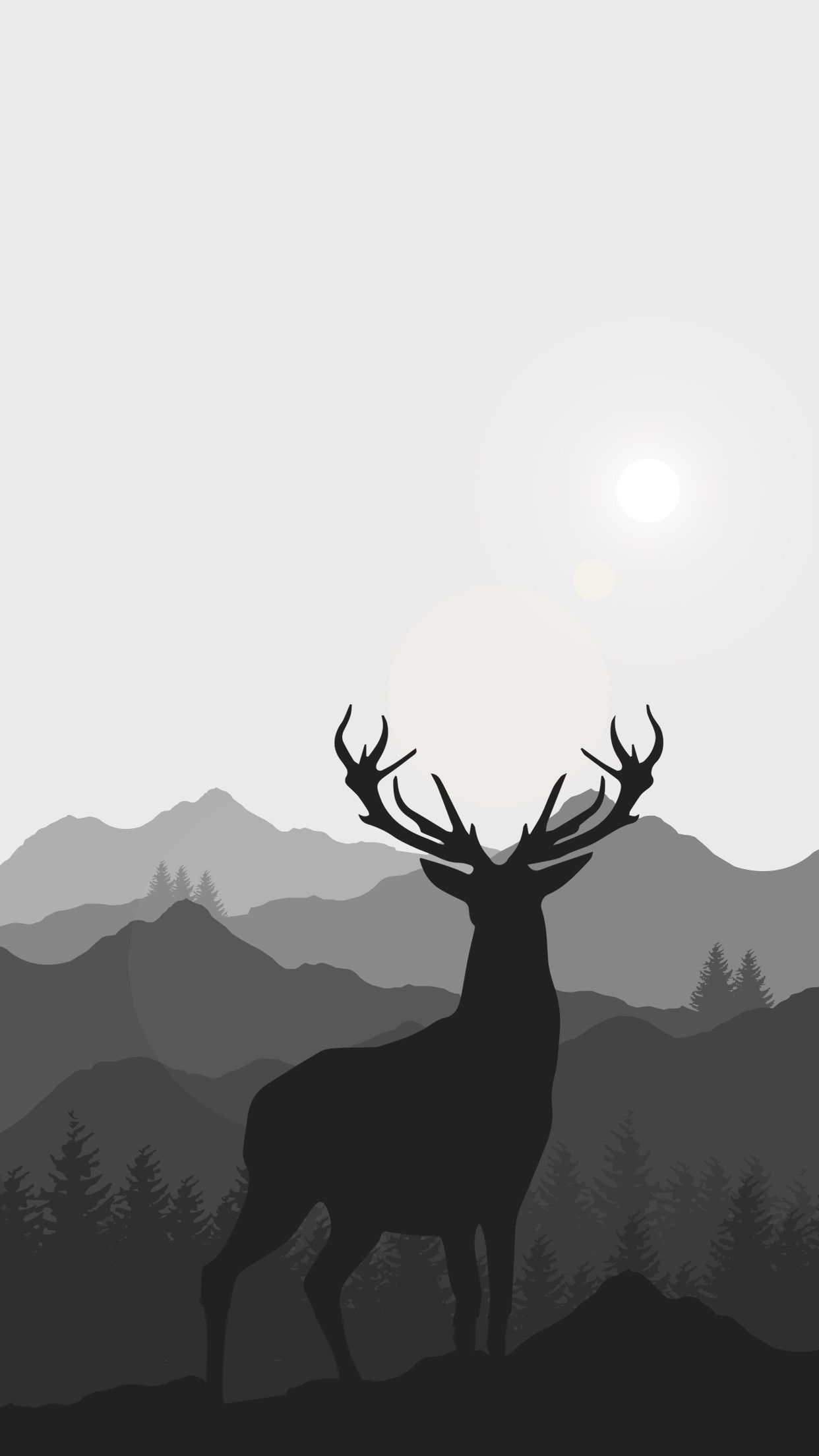 Minimalist Animal Wallpapers