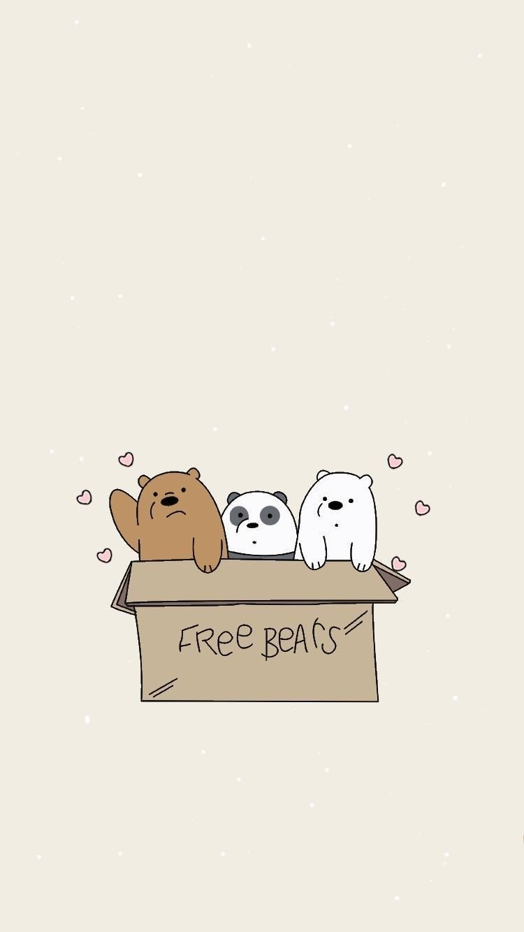 We Bare Bears Aesthetic Wallpapers Top Free We Bare Bears Aesthetic Backgrounds Wallpaperaccess