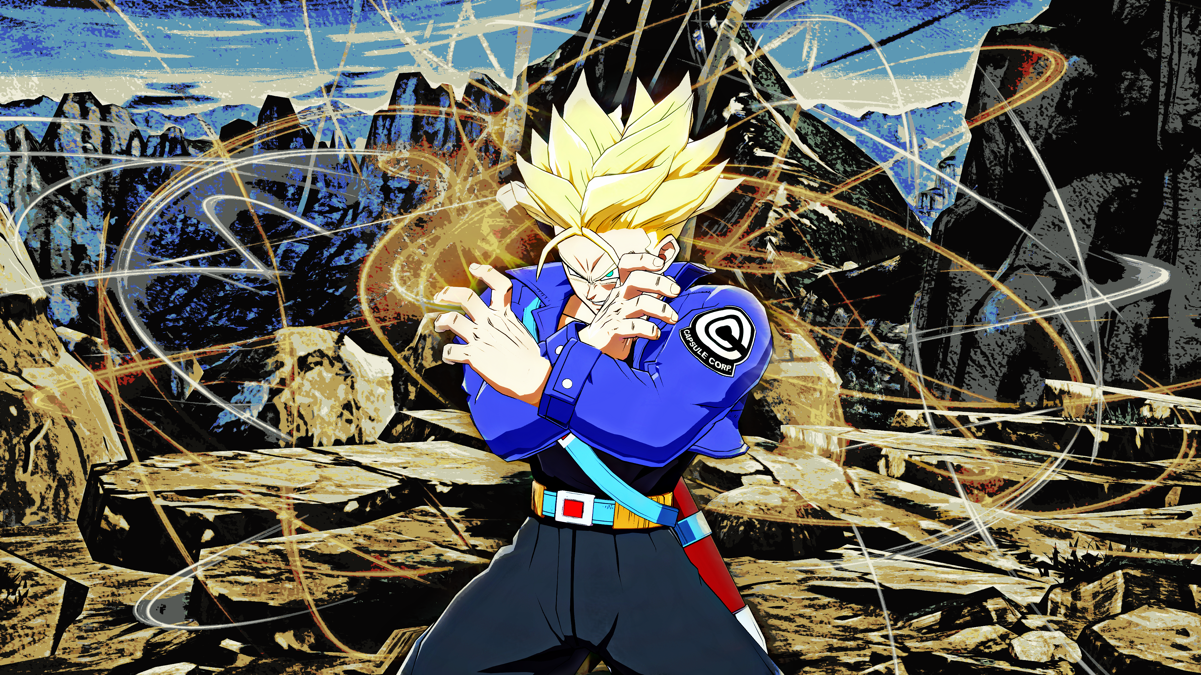 Future Trunks Wallpapers Top Free Future Trunks Backgrounds Wallpaperaccess