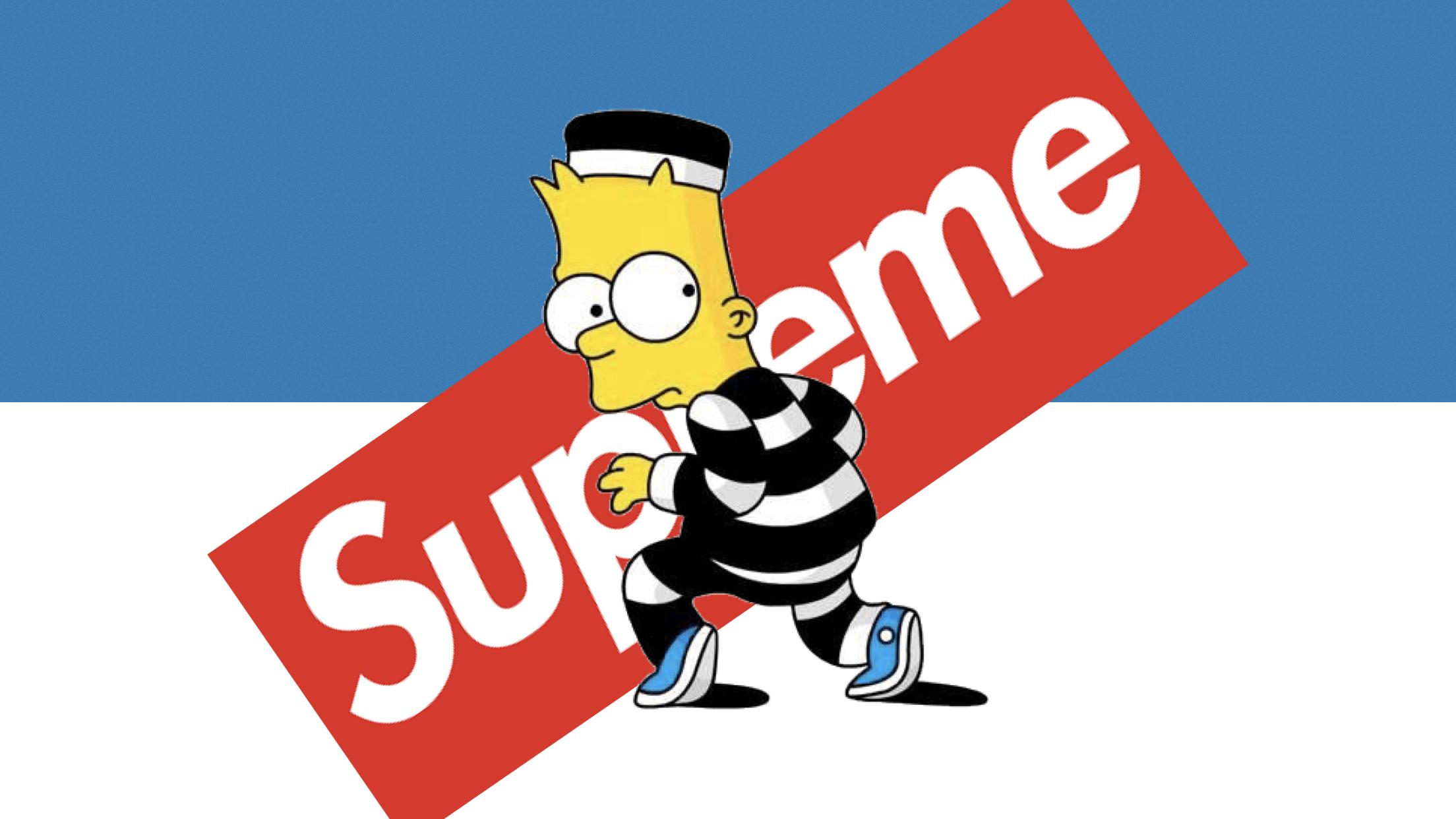 Supreme Simpson Laptop Wallpapers - Top Free Supreme ...