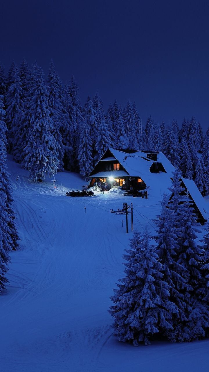Winter Cabin Wallpapers Top Free Winter Cabin Backgrounds Wallpaperaccess