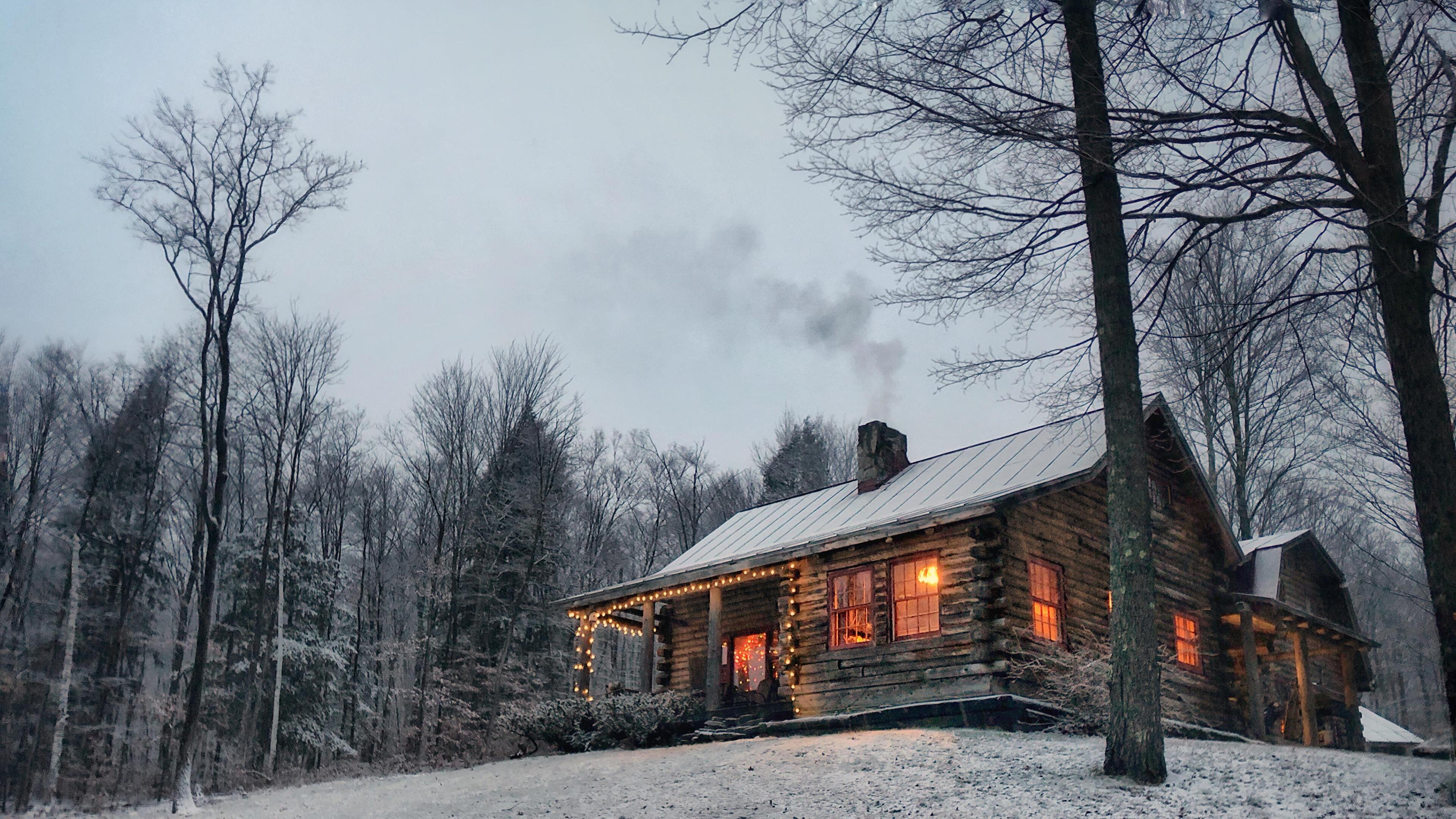 Snow Cabin Wallpapers Top Free Snow Cabin Backgrounds