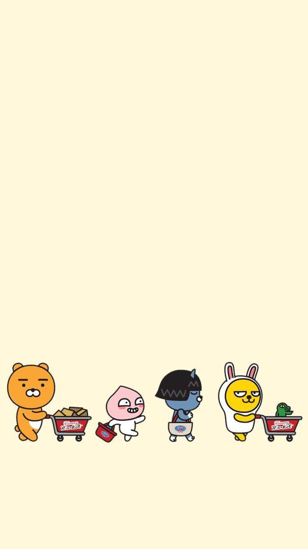 Cute Korean Cartoon Animal Wallpapers Top Free Cute Korean Cartoon