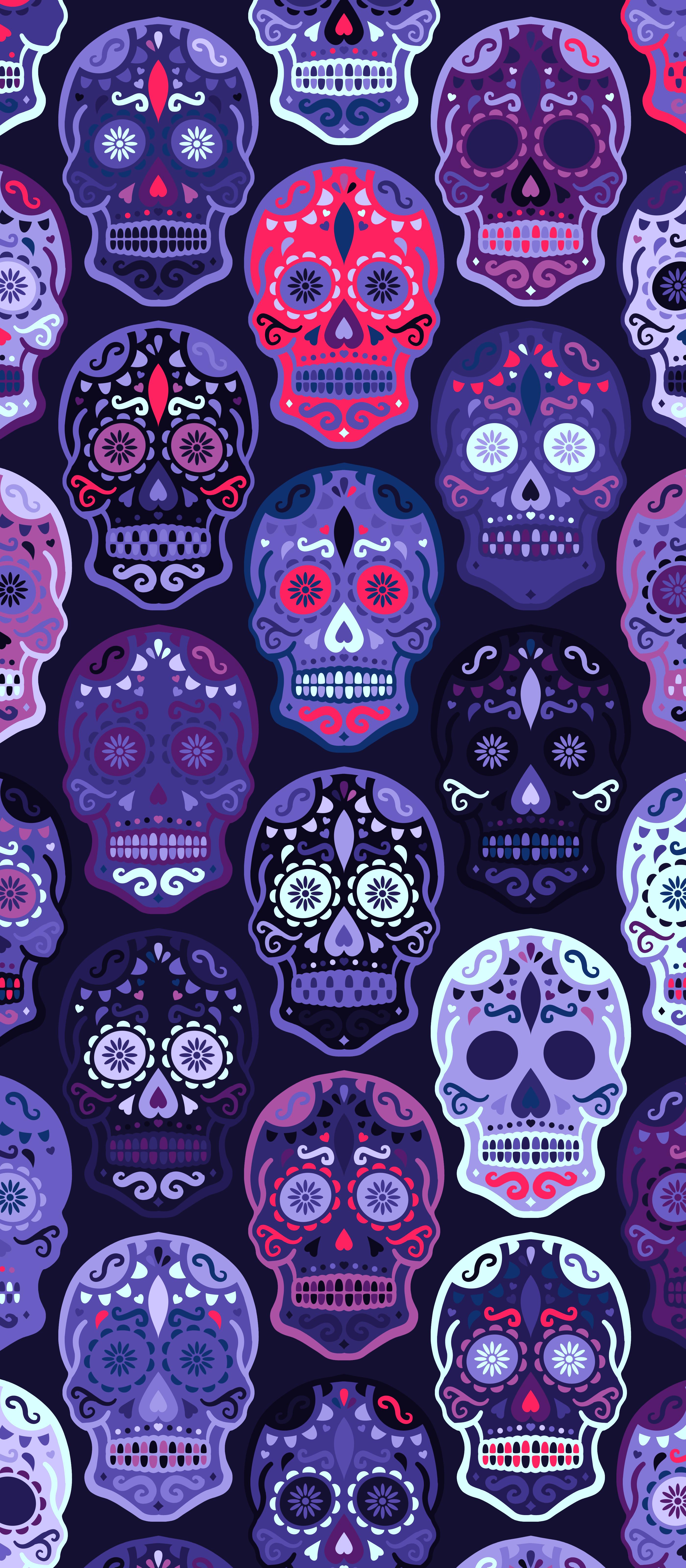 Sugar Skulls Wallpapers Top Free Sugar Skulls Backgrounds