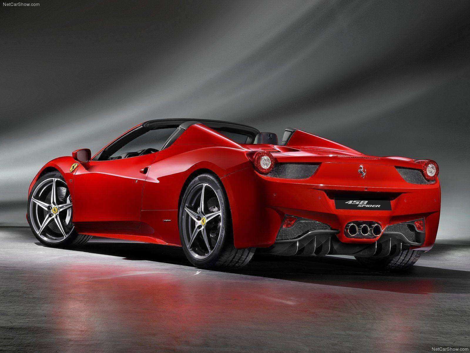 Ferrari Spider Wallpapers Top Free Ferrari Spider Backgrounds Wallpaperaccess
