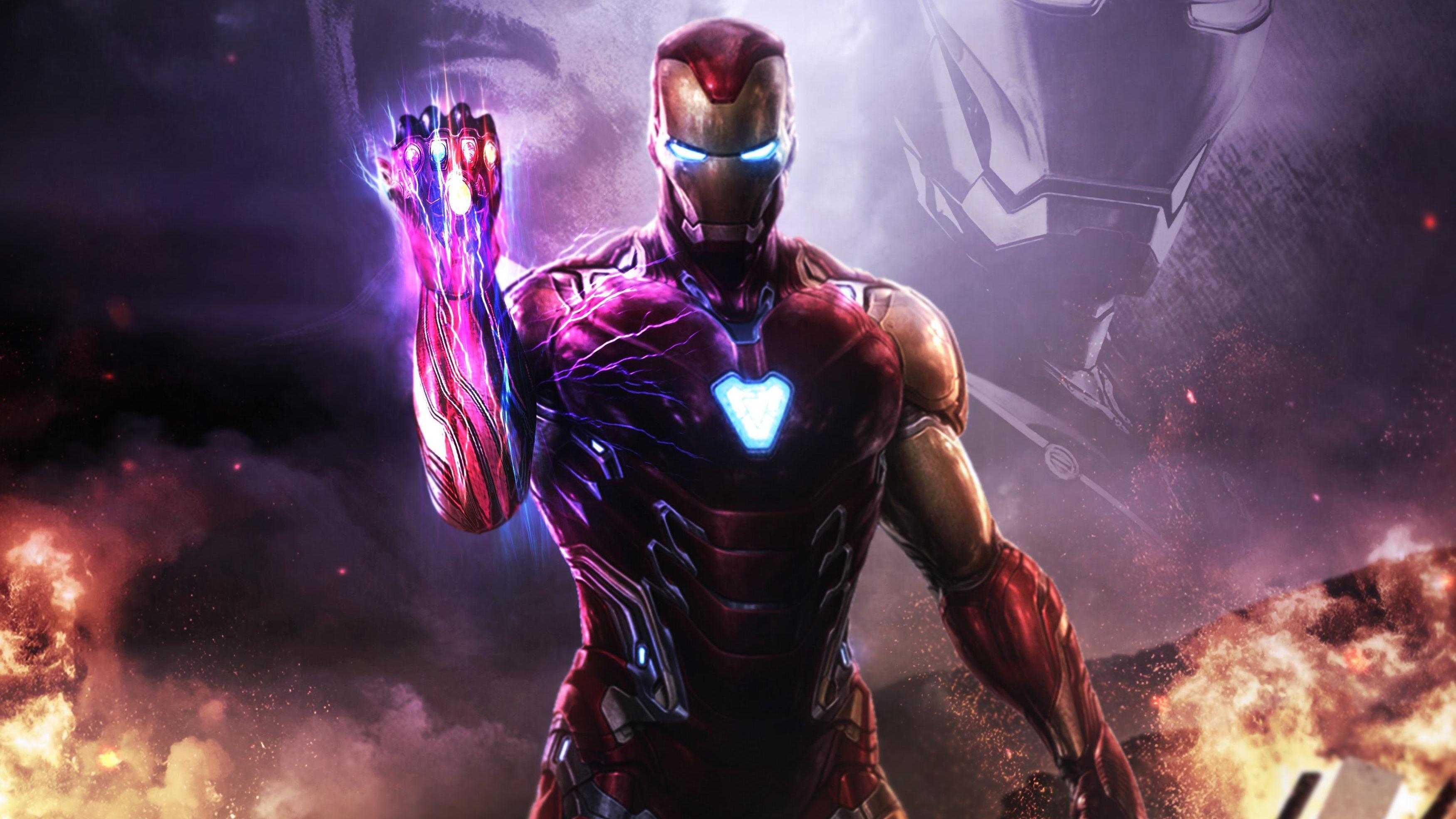 Iron Man Infinity Gauntlet Wallpapers Top Free Iron Man Infinity