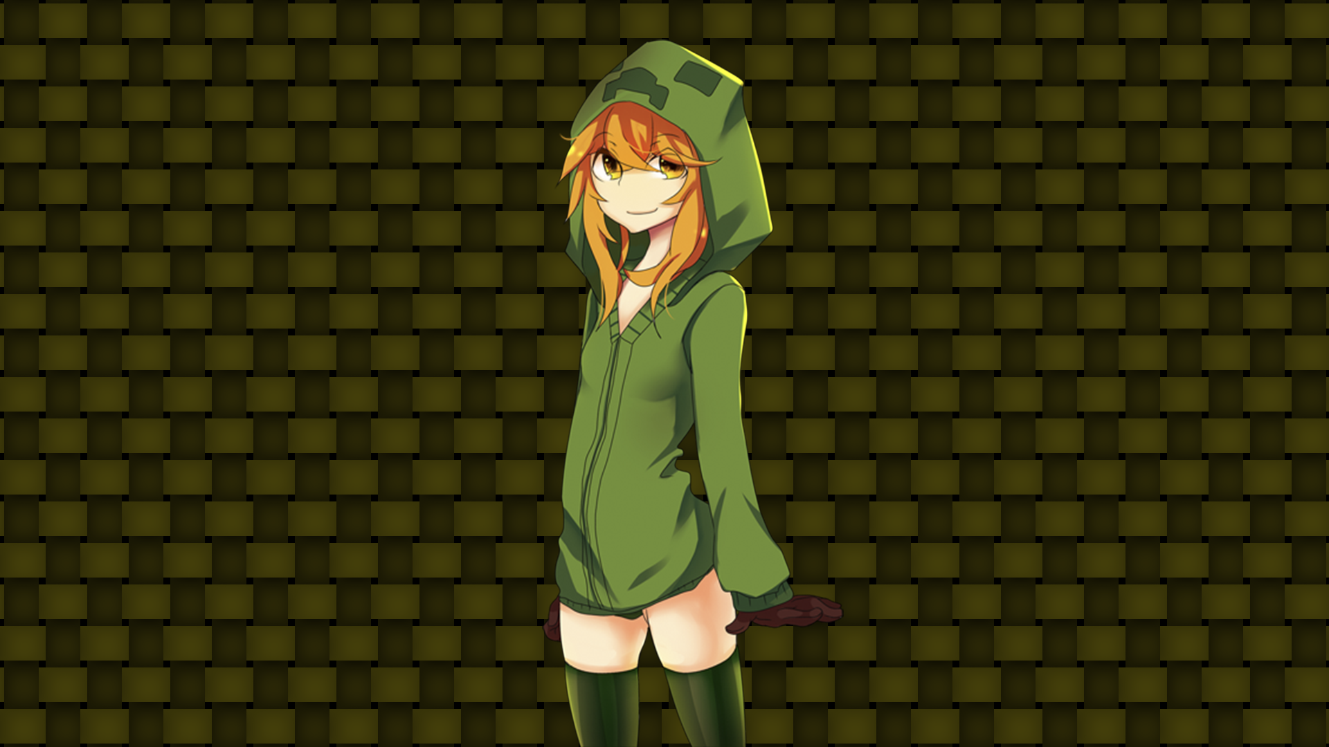 Anime Minecraft Wallpapers Top Free Anime Minecraft Backgrounds Wallpaperaccess