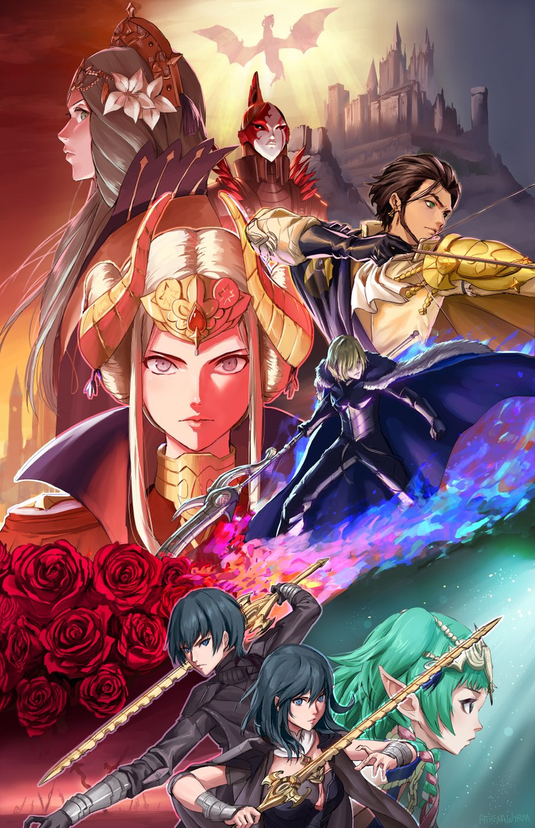 Fire Emblem Three Houses Wallpapers Top Free Fire Emblem Three