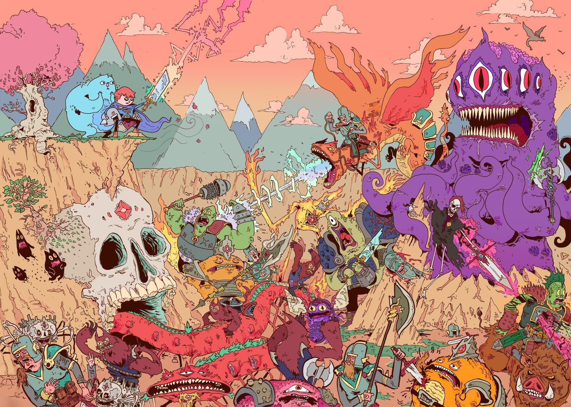 Lsd Cartoon Wallpapers Top Free Lsd Cartoon Backgrounds