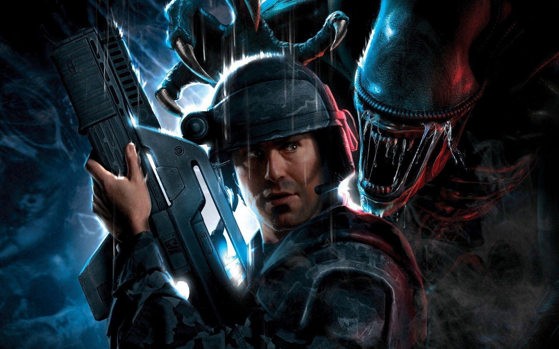 Alien Vs Predator Wallpapers Top Free Alien Vs Predator