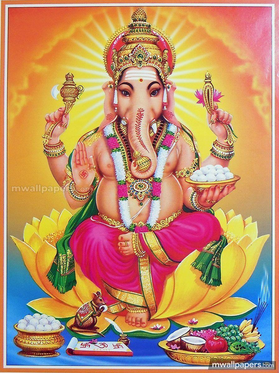 Vinayagar Wallpapers Top Free Vinayagar Backgrounds Wallpaperaccess